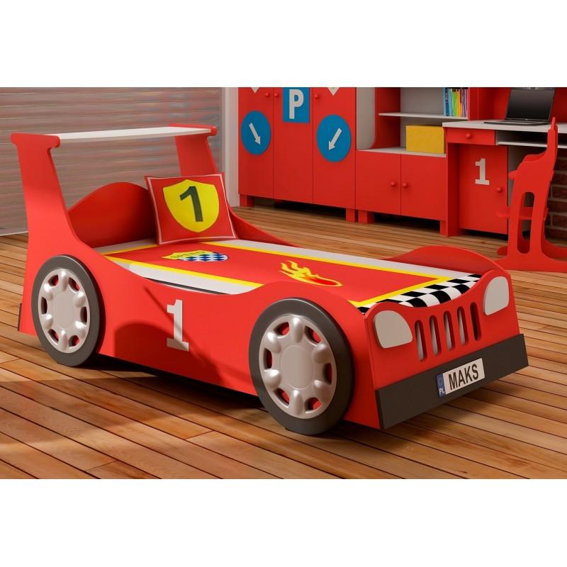 Letto macchina scorrevole estraibile 180x90 cm - Letto bimbo auto ...