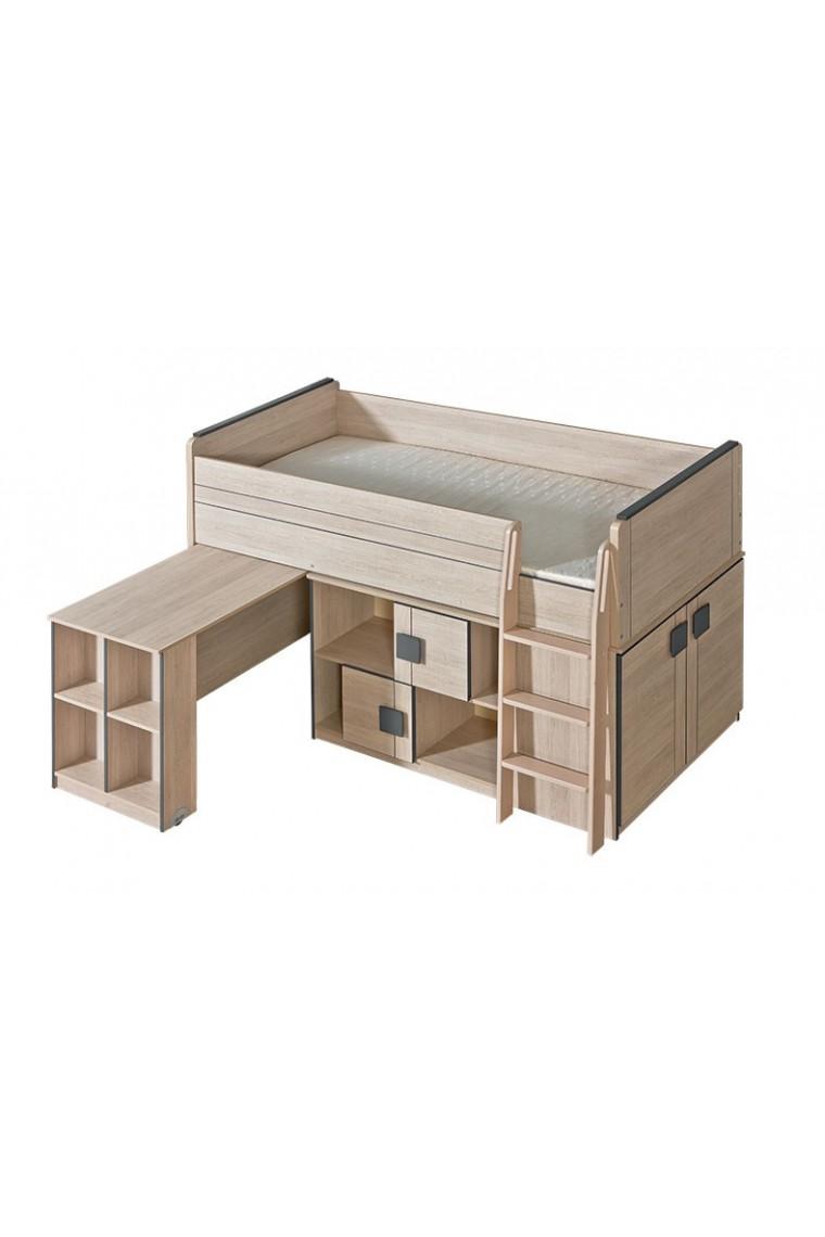 letti ikea una piazza e mezzo struttura letto piazza e. Black Bedroom Furniture Sets. Home Design Ideas
