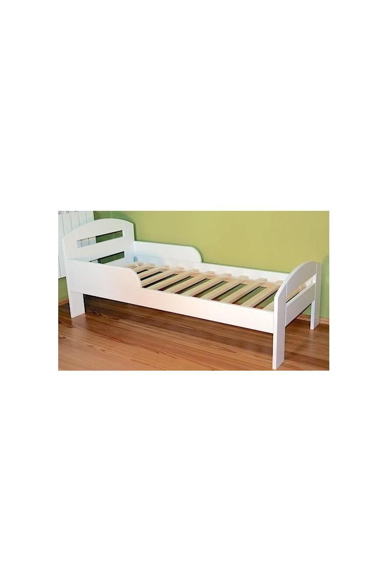 Letto singolo in legno di pino massello tim2 con cassetto - Letto di legno ...