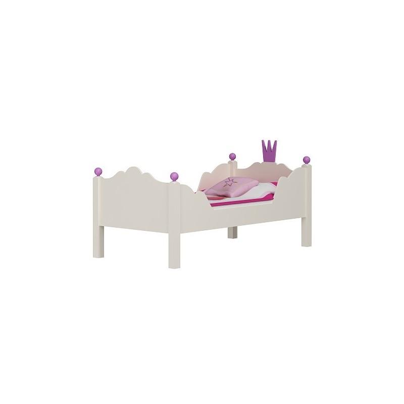 Letto principessa 160x80 cm - Letto per bambini 160 80 ...