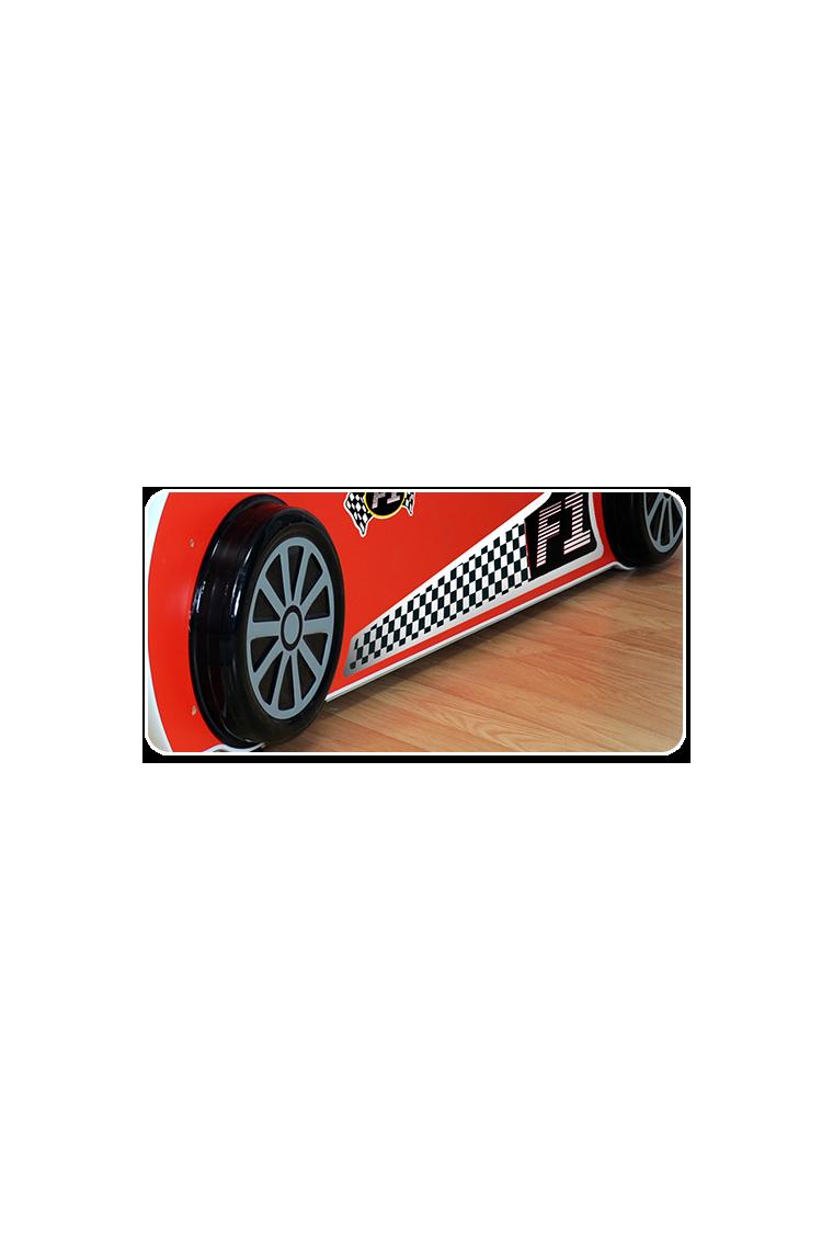 Letto macchina con luci e materasso 180x90 for Materasso per auto