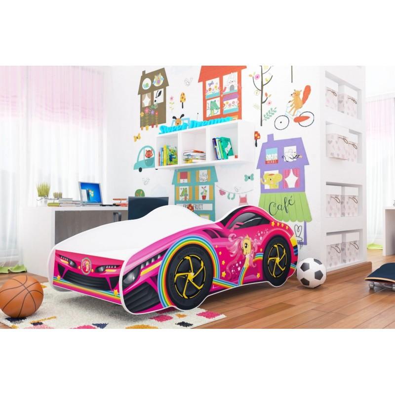 Lettino macchina cars bambina bambino 140x70 cm - Letto bambino macchina ...