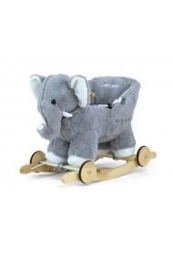 Dondolo Polly elefante grigio