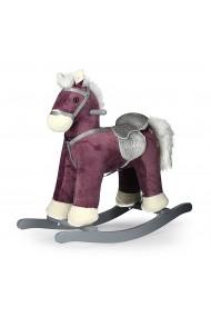 Cavallo a dondolo Pepe porpora