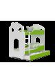 Letto a castello Casetta 160x80 cm