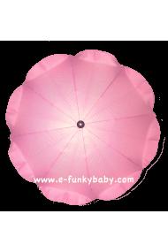 Ombrellino per passeggino rosa