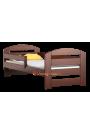 Letto in legno di pino Kam3 180x80 cm