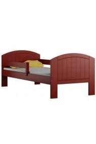 Lettino in legno di pino massello Milly con cassetto 160x70 cm