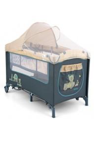 Lettino da campeggio con materassino fasciatoio Mirage Spiaggia