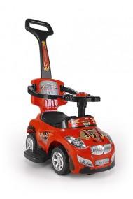 Cavalcabile auto 3 in 1 HAPPY rosso