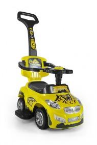 Cavalcabile auto 3 in 1 HAPPY giallo