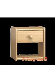 Comodino in legno massello