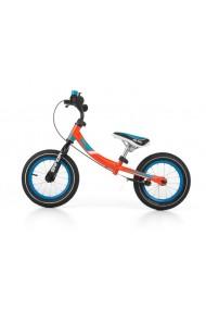 YOUNG bici senza pedali con freno - arancione
