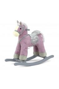Cavallo a dondolo Pepe viola