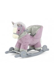 Cavallo a dondolo Polly viola